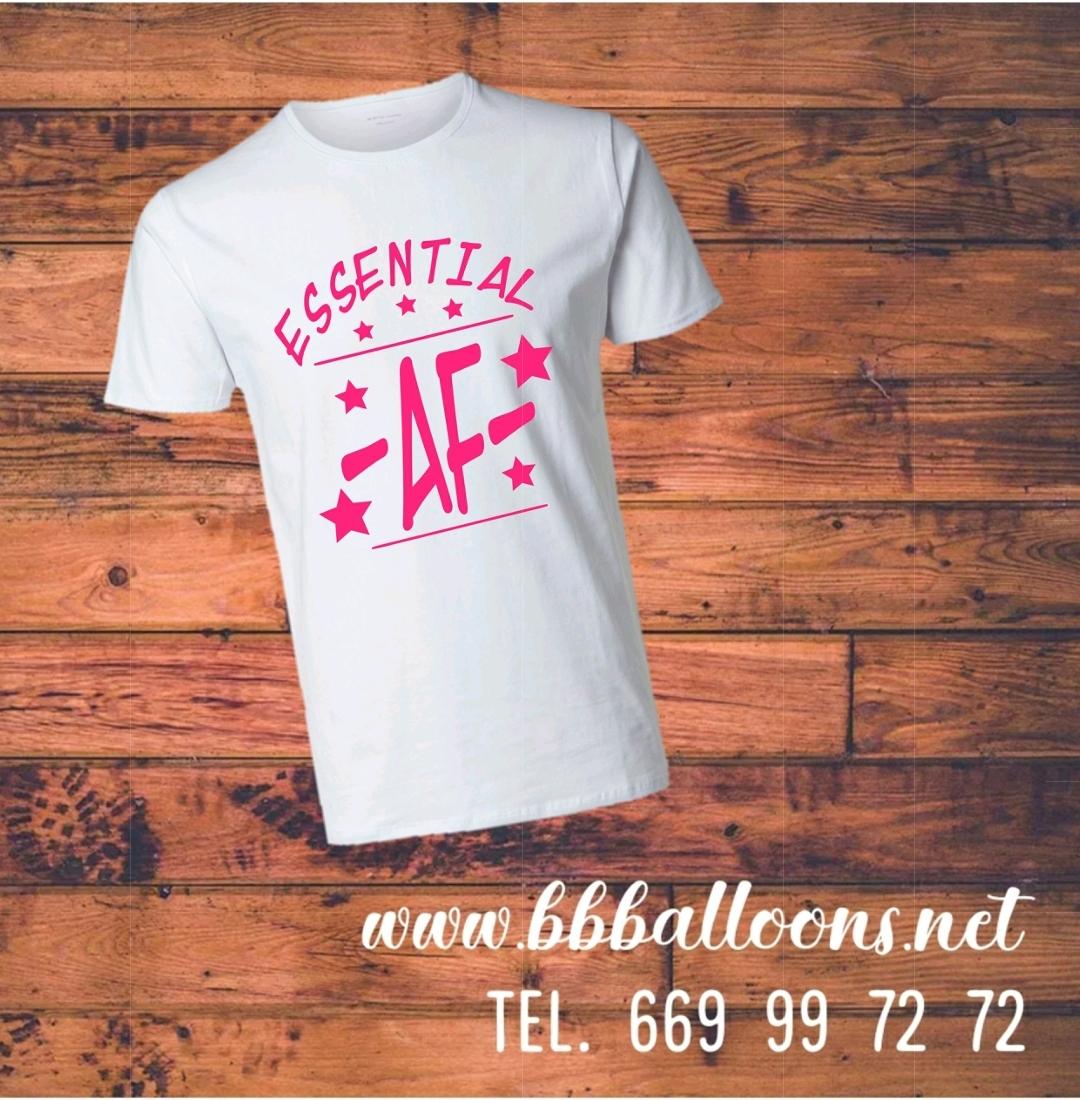 essential af t shirt benidorm