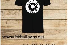 covid 19 t shirt benidorm